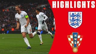England 2-1 Croatia | Late Harry Kane Goal Seals Dramatic Comeback | Official Highlights