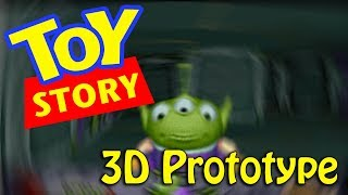 TOY STORY 3D PROTOTYPE for the 1995 video game