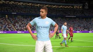 FIFA 18 GAMEPLAY Manchester City Vs Liverpool (Me vs Legendary AI)
