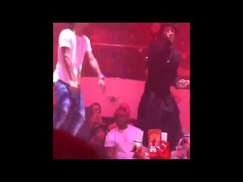 Lil Wayne Performs Live With Rae Sremmurd At LIV Nightclub In Miami