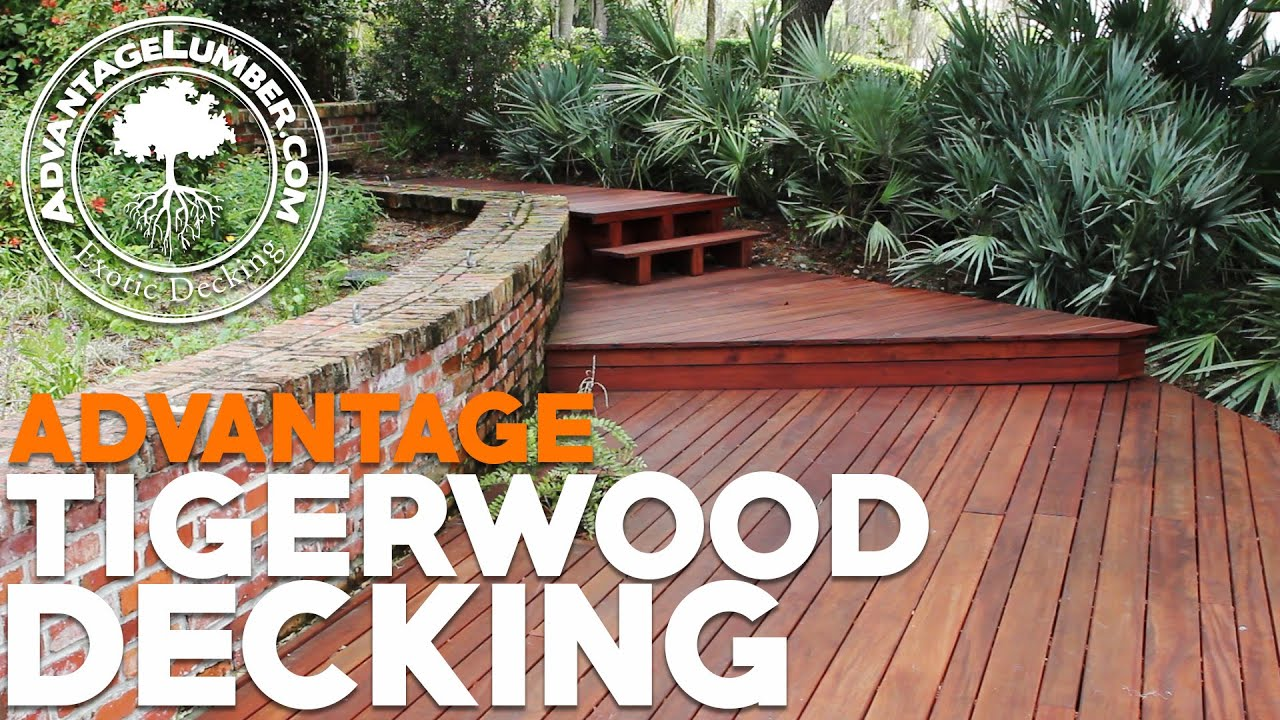 Discover The Natural Beauty Of Advantage Tigerwood