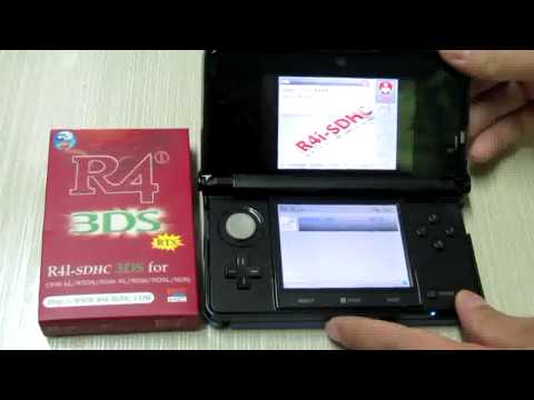 R4i SDHC 3DS RTS Works Fine on 3DS 6.2.0-12U