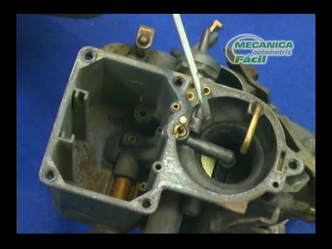 Estructura y mantenimiento de un carburador (Parte 1/2)