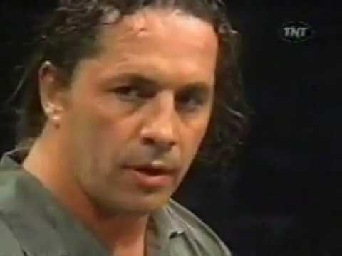 WCW Bret Hart - Statement After Owens Death 1999