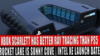 PS5 & Xbox Scarlett Spec Info (exclusive) | Intel Rocket Lake Is Sunny Cove Based (Exclusive)
