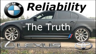 BMW Is More Reliable And Better Built Than Lexus And Toyota
