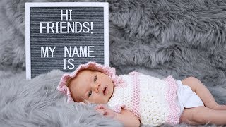 Our Baby's Name Reveal!