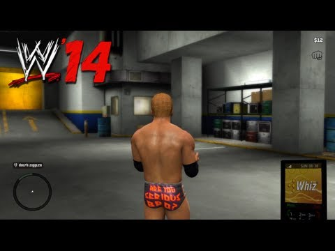 WWE '14: What If Rockstar Games Made WWE '14...