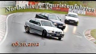 Nordschleife Touristenfahrten - 06.10.2012 - Action Drifts Dreher !