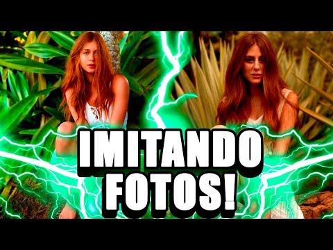 Imitando Fotos de RUIVAS FAMOSAS! 😱🔥🔥🔥