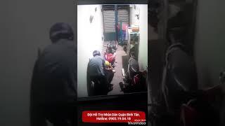 Trộm xe tại nhà trọ Bình Chánh
