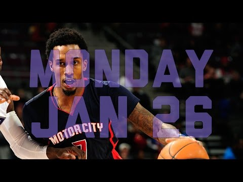NBA Daily Show: Jan. 26 – The Starters