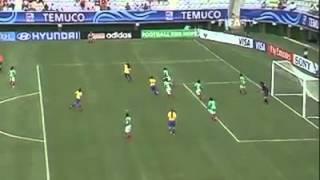 أفضل رمية تماس في تاريخ الكرة النسائية للمنتخب البرازيلي
