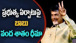 ప్రభుత్వ ఏర్పాటు పై బాబు వంద శాతం ధీమా | Chandrababu Confidence on TDP Winning
