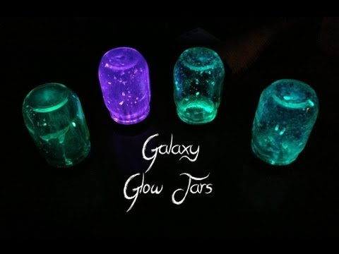 Galaxy Glow Jars | DIY Decorating Ideas - YouTube