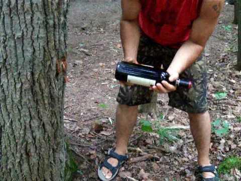 Reboucher une bouteille de vin sans bouchon