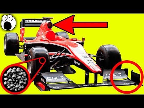 Top 10 Secrets Of F1 Car Design You'll Find Really Interesting