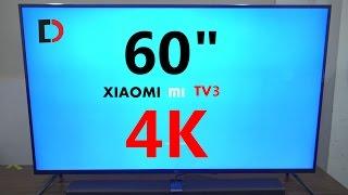 """Mở hộp và Đánh giá Xiaomi Mi TV3 60"""" 4K - Thỏa Sức Đam Mê cùng EURO 2016 [4K]"""