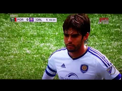 Orlando city vs porland goal from kaka