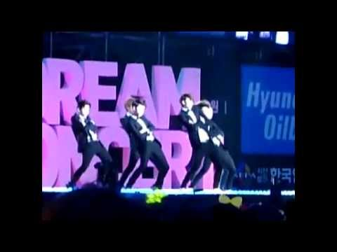 [FANCAM] 120512 Sorry Sorry - EXO-K at Dream Concert 2012 Music Videos