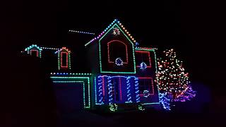 Shock and Awe! My christmas lights display 2015.
