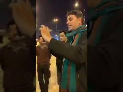مسجدِ کوفہ میں مجلس کے بعد کے مناظرعلامہ سید شہنشاہ حسین نقوی