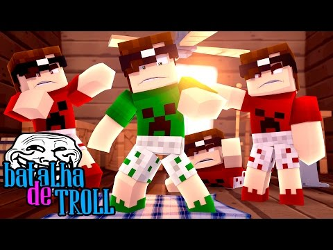 Minecraft: MIKE REVERSO! (Batalha de Troll) thumbnail