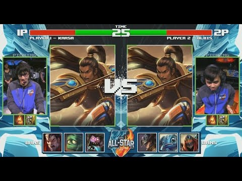 Karsa Draven VS Albis Draven (1 vs 1) - 2016 All-Star Day 3