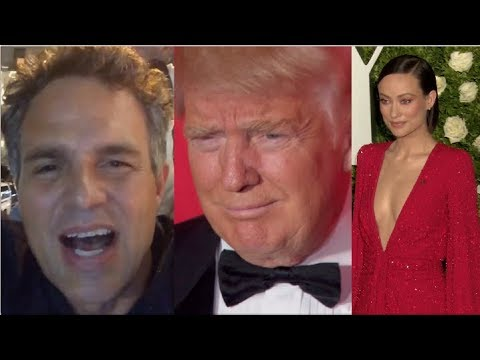 Mark Ruffalo, Olivia Wilde and More Celebrities Protest Trump's Comments | Splash News TV