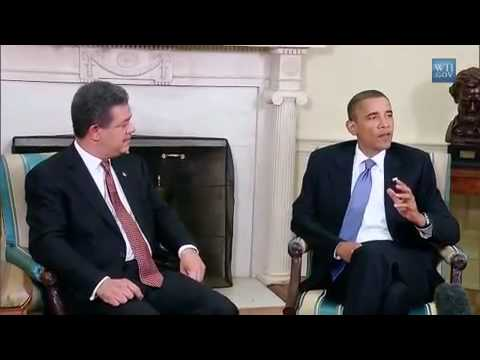 President Obama President Leonel Fernández of the Dominican Republic News.mp4