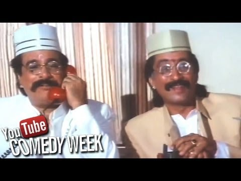 Kadar Khan and Shakti Kapoor - Baap Numbri Beta Dus Numbri Scene...