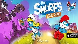 Smurfs Epic Run - Best App For Kids - iPhone/iPad/iPod Touch