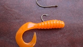 Plastic Grubs For Trout!