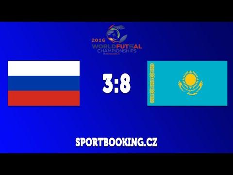 Match review RUSSIA VS KAZAKHSTAN, ROUND 8 (World Futsal Championship 2016)