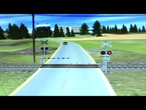 Railroad Crossing Trainz Game