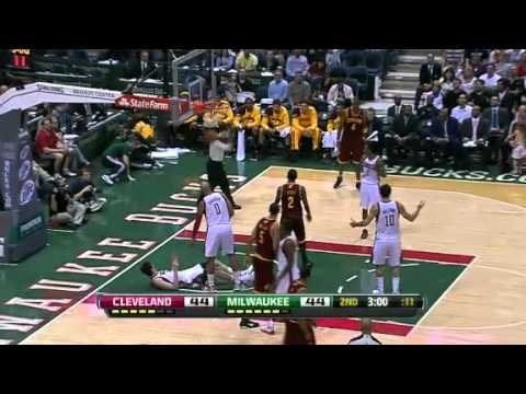 NBA Cleveland Cavaliers Vs Milwaukee Bucks Highlights Mar 14, 2012 Game Recap