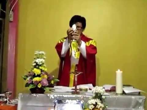 Lagu Pemecahan Roti. [....ya Tuhan saya tdk pantas Tuhan dtg pd saya...] oleh  rm Avien Pr.