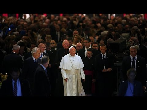 Pope Francis Visits Ground Zero   The New York Times