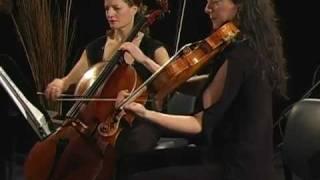 Four Voices String Quartet Plays 34 Gigue 34 By Johann Pachelbel