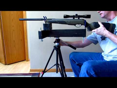 Homemade Rifle Rest / Stand $5 Part 2