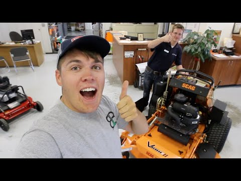 I Bought A New Mower ► Scag Vride 2!!  The Buying Experience