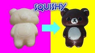 Cách Làm Squishy Gấu Brown - bộ kit squishy kiểu mỹ