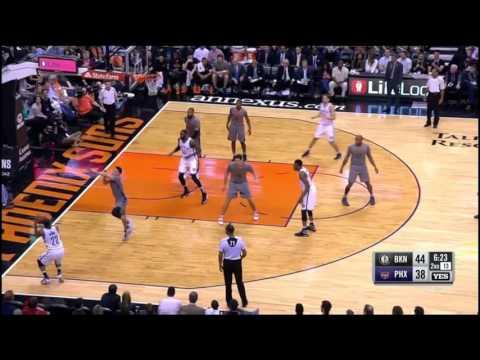 Markel Brown left-handed dunk on Tyson Chandler