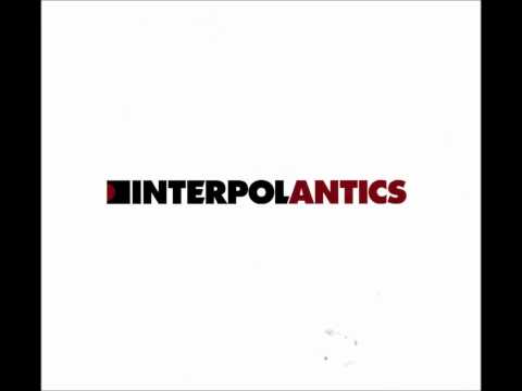 Interpol - A Time To Be So Small