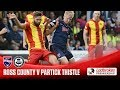 Ross County Partick Thistle goals and highlights