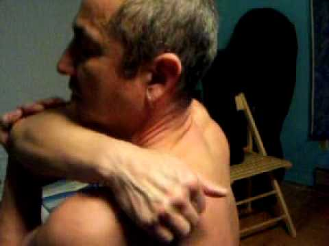 self massage video/ shoulders and neck