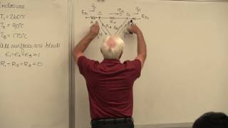 Heat Transfer: Thermal Radiation Network Examples (16 of 26)
