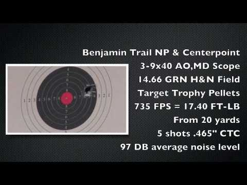 Benjamin Trail NP - Can a $230 spring gun hold groups at 50 yards? Watch the video and find out!
