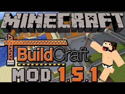Minecraft mods:Como instalar y Descargar Buildcraft mod para minecraft 1.5.2