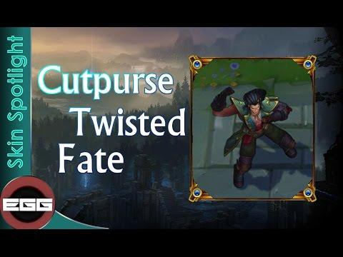 Cupturse Twisted Fate Skin Spotlight - League of Legends Skin Review [HD]